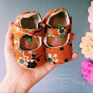 Gracious May Shoes Baby Girl Booties Mary Jane